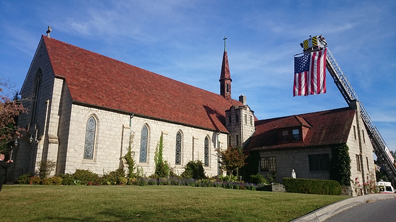 St Anne Catholic Church, Bristol, VA.